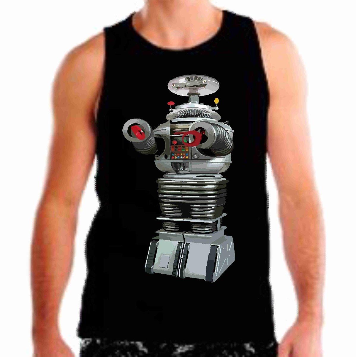 Camisa Camiseta Regatas Perdidos No Espaço Robô B9 71d4d498d76