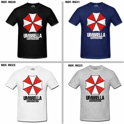 camisa camiseta resident evil umbrella stars rpd t-virus