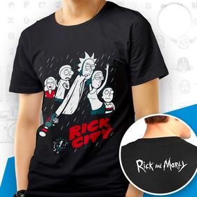 bf92bd4471 Blusa Rick E Morry - Camisetas e Blusas em Ceará com o Melhores ...