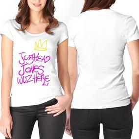 2033fb2da9 Camisa Camiseta Riverdale Jughead Jones Feminina