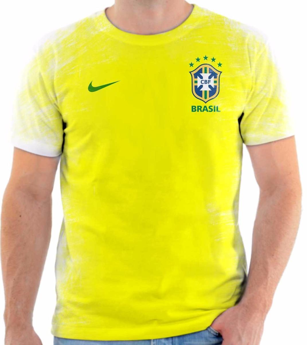 90002a08d40e93  camisa camiseta seleção brasileira olimpiadas 2016 rio  linda. Carregando zoom. 04b22fe0c69ec4  Camiseta Nike Brasil I Torcedor  Masculina ... 4db1388499dce