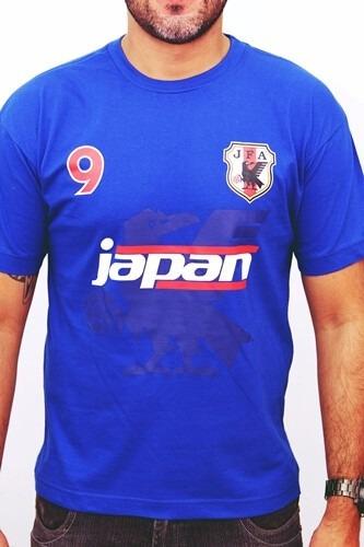 camisa camiseta seleção japão