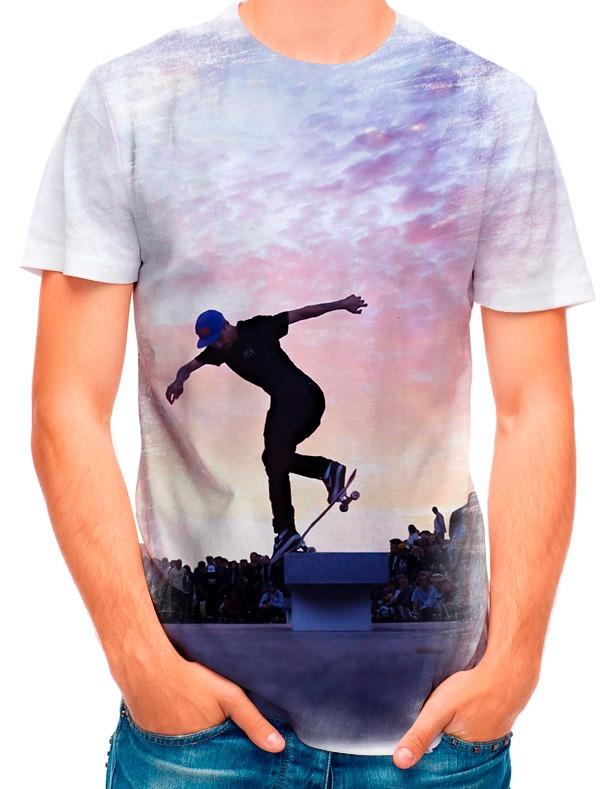 3fd519fe923c9 Camisa Camiseta Skatista Luan De Oliveira 3861 - R  35