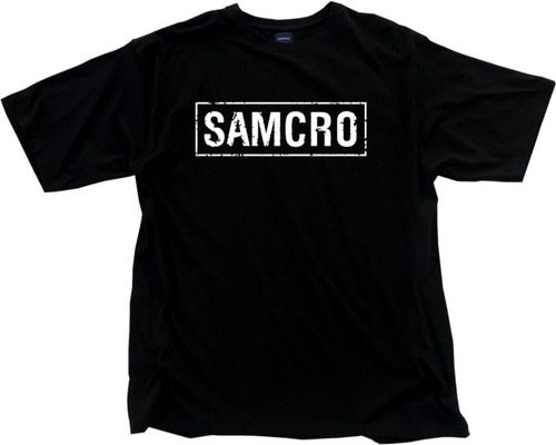 camisa, camiseta sons of anarchy samcro oferta relampago