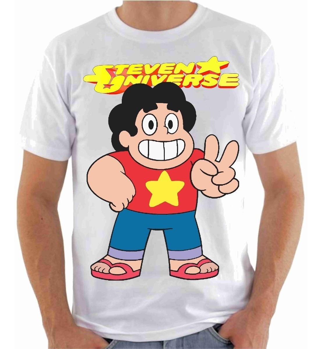 Camisa Camiseta Steven Universo Desenho Animado Série
