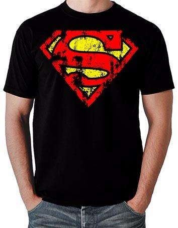 4ce14d31a Camisa Camiseta Super Homem Superman Geek Hq Heróis Desenho - R  39 ...