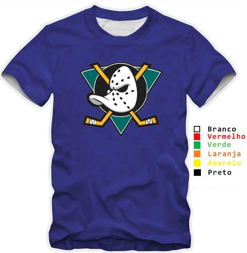2ddd953cd37aa camisa camiseta super patos mighty ducks hockey 100% algodão. Carregando  zoom.
