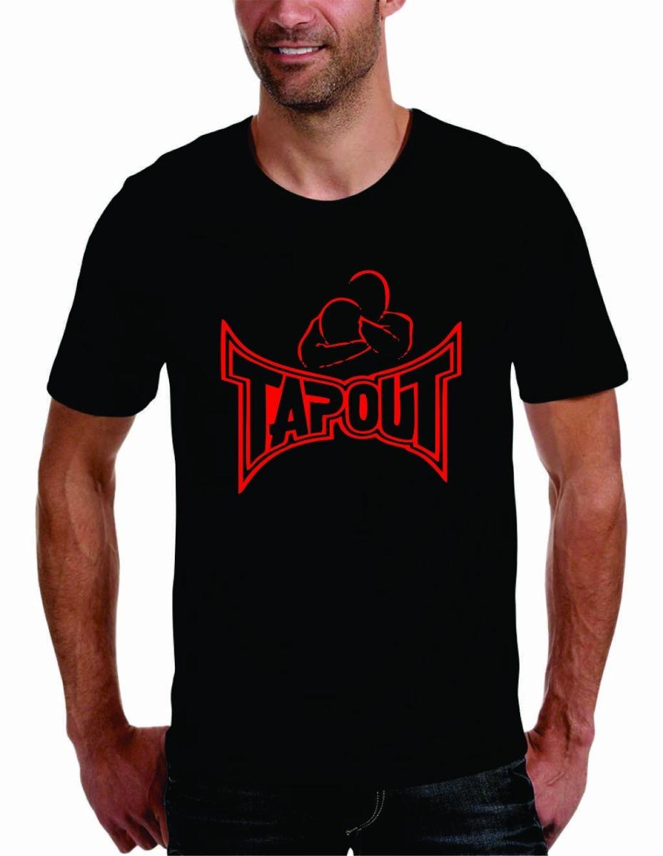 camisa camiseta tapout ufc jiu jitsu lutas fitness o melhor. Carregando  zoom. 4c611948dcffc
