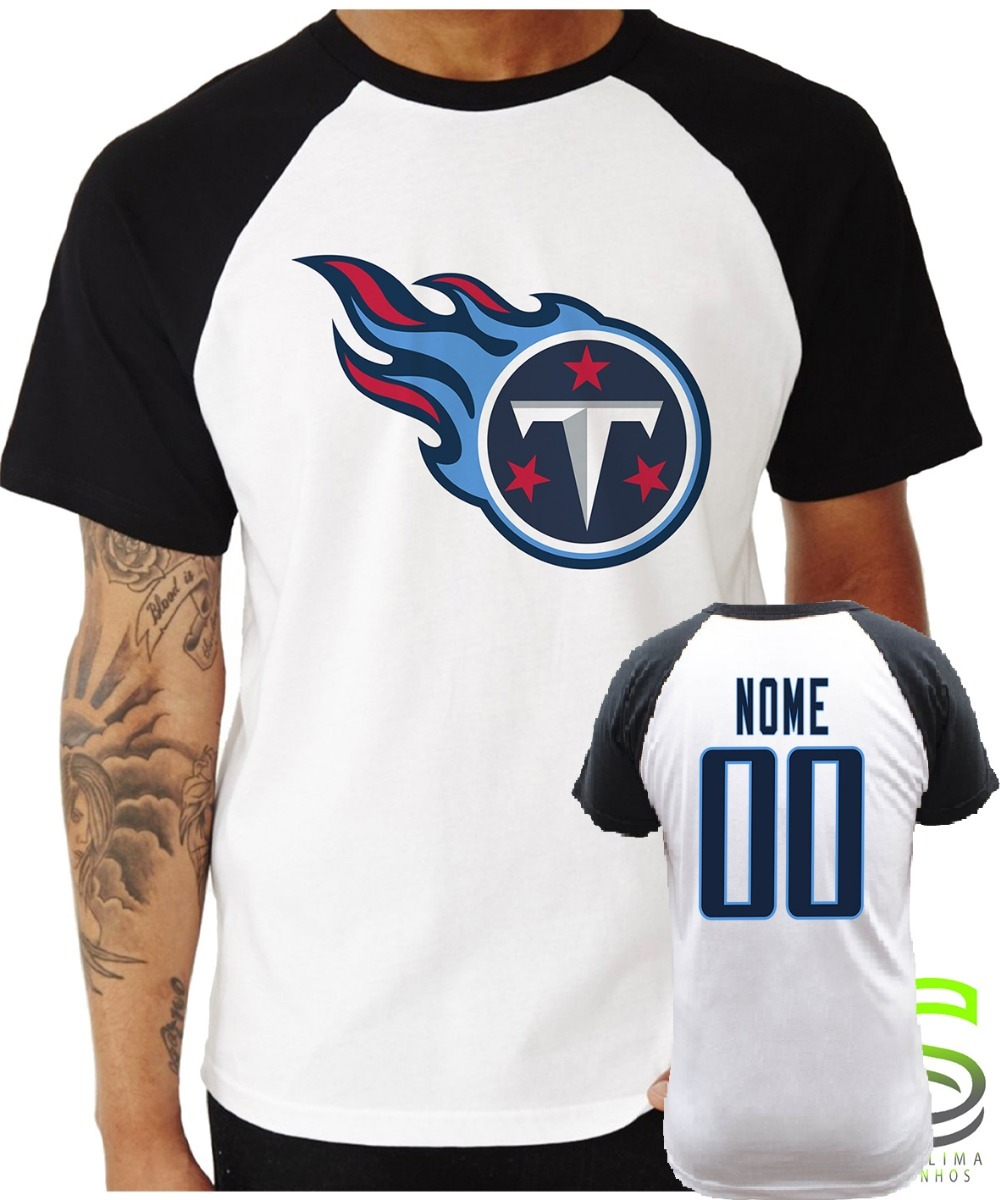 d6dce8a8f camisa camiseta tennessee titans personalizada nfl. Carregando zoom.