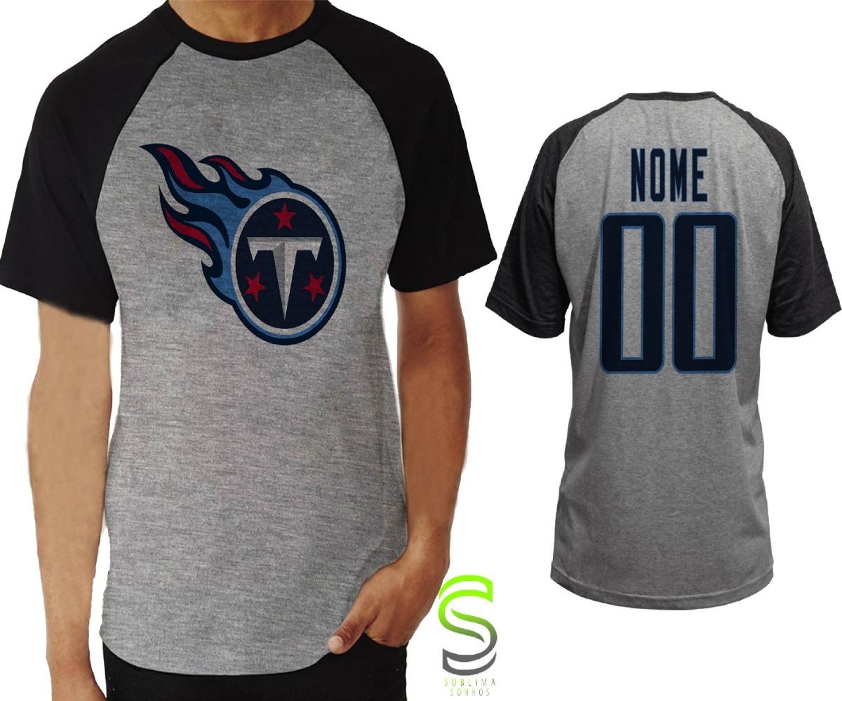 969f7d61d camisa camiseta tennessee titans personalizada nfl raglan. Carregando zoom.