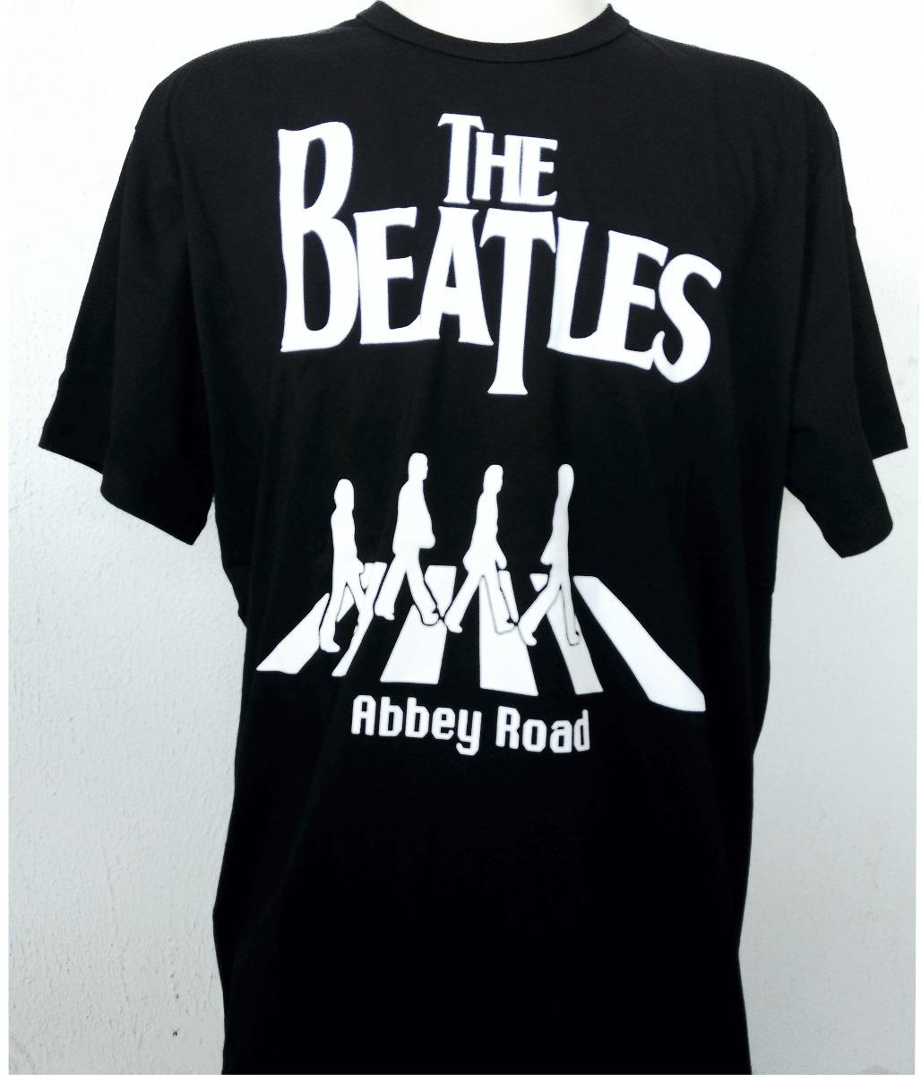 62bf254b3 Camisa Camiseta The Beatles Abbey Road Banda De Rock - R  39