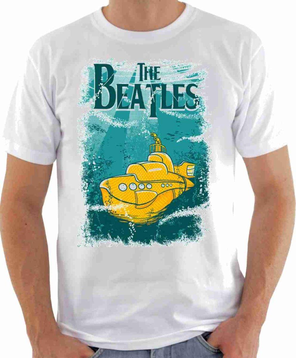 8a800c23d Camisa Camiseta The Beatles - Yellow Submarine - R  25