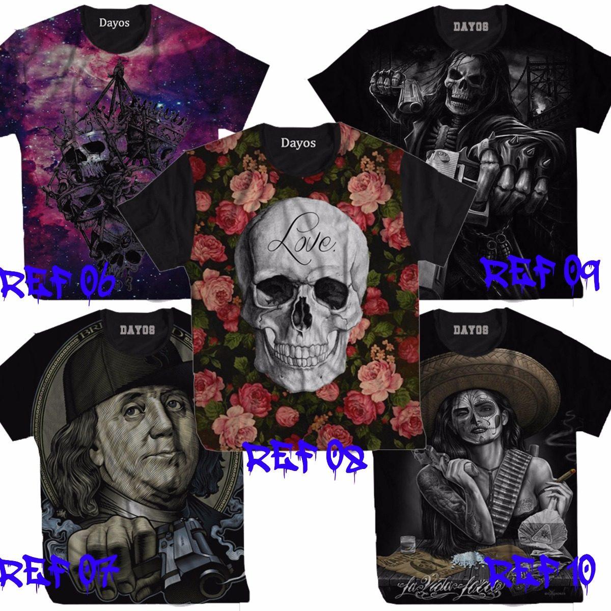 Camisa Camiseta Thomas Jefferson Thug Hip Hop Caveira Ny La - R  39 ... 37fc5deb404