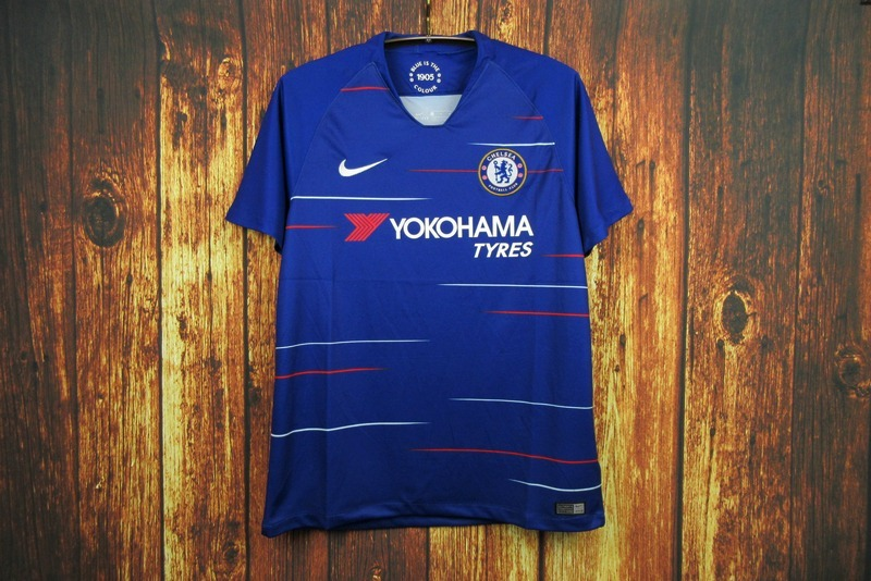 1759fe848ecd1 camisa camiseta time futebol chelsea home adulto 2018 azul. Carregando zoom.