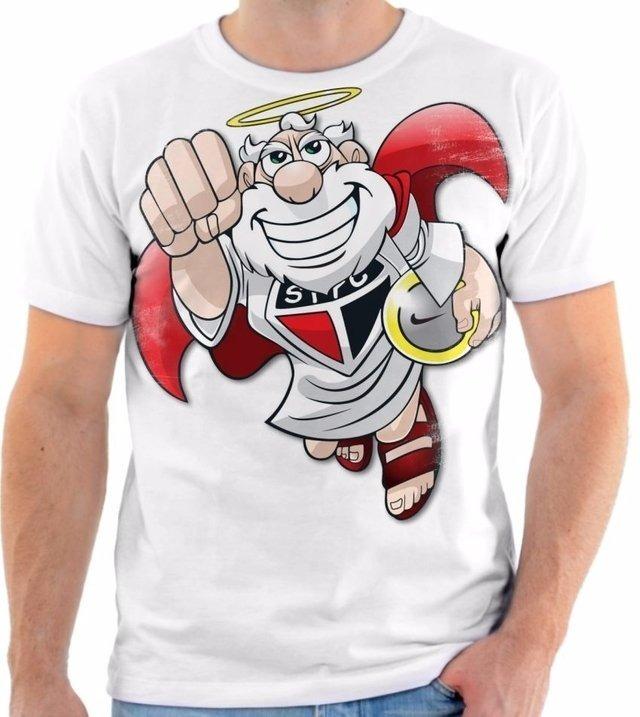 e445fae6e Camisa Camiseta Time São Paulo Futebol Clube Mascote 3 - R  50