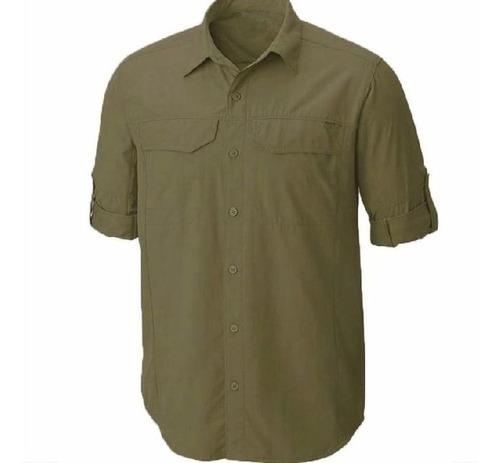 camisa camiseta, tipo zafari. nylon  secado rápido icsstore