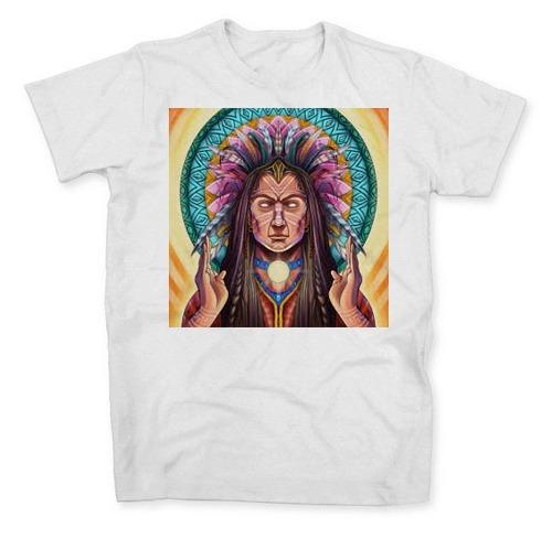 Camisa Camiseta Tribal Índio Rave Música Trance Psy Psicolec