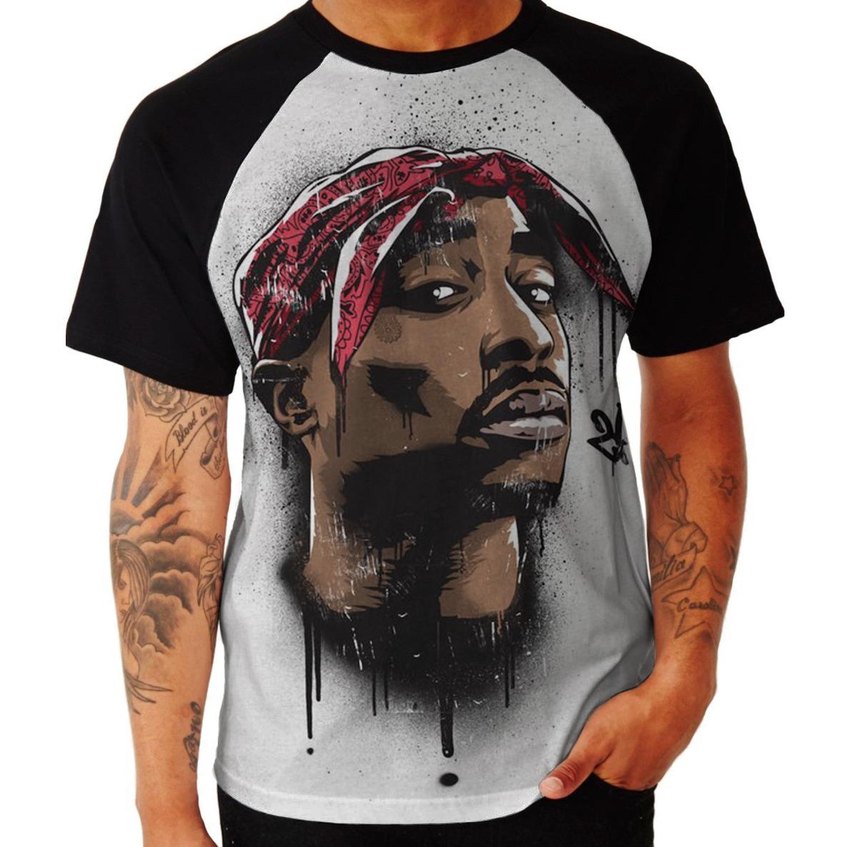 95cab574fd03b camisa camiseta tupac shakur 2pac rap hip hop mc batalha top. Carregando  zoom.