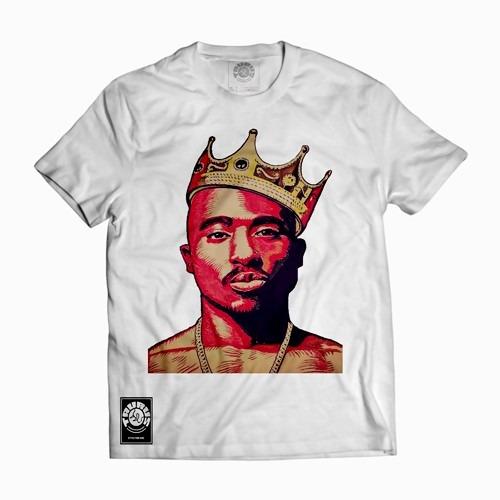 303a2293059ab Camisa Camiseta Tupac Shakur Thug Life 2pac Swag Rap Hip Hop - R  19 ...