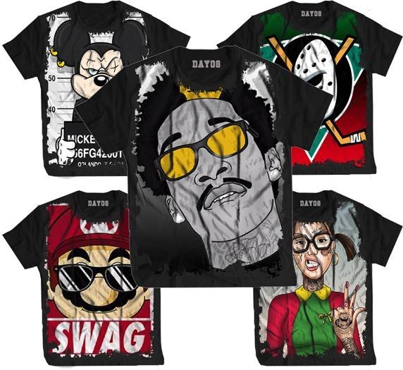 Camisa Camiseta Tupac Tu Pac 2tupac Rap Hip Hop Thug Swag - R  44 625ad8e6f12