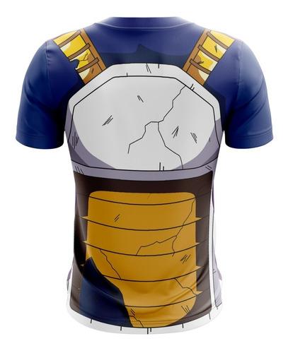 camisa camiseta vegeta dragon ball z super gt dragonball