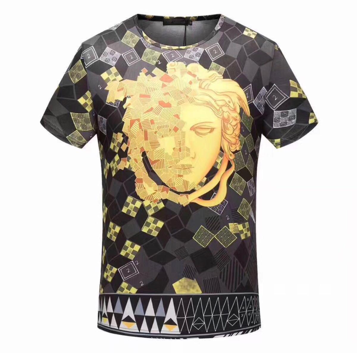 camisa camiseta versace logo masculina- pronta entrega. Carregando zoom. ff6bc69fd1b