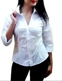965a751bb5 Blusa Corte V Camisetas Blusas Manga Longa - Blusas para Feminino no ...