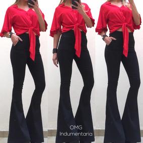 b6b4545fb989 Blusa Con Volados Broderie - Blusas de Mujer S en Mercado Libre ...