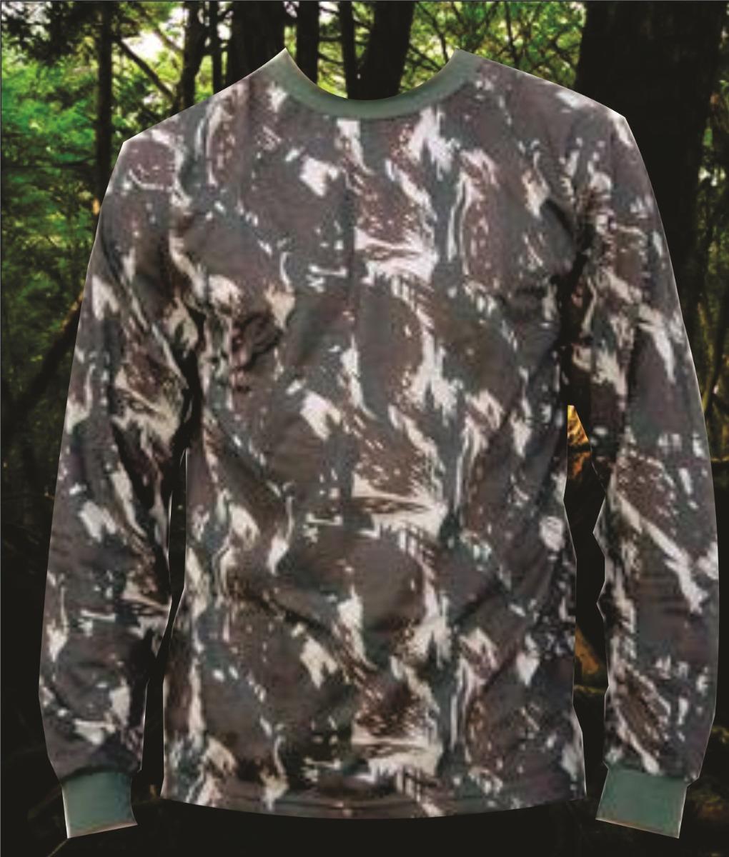 camisa camuflada exercito brasileiro manga longa. Carregando zoom. 09cf9ee3612