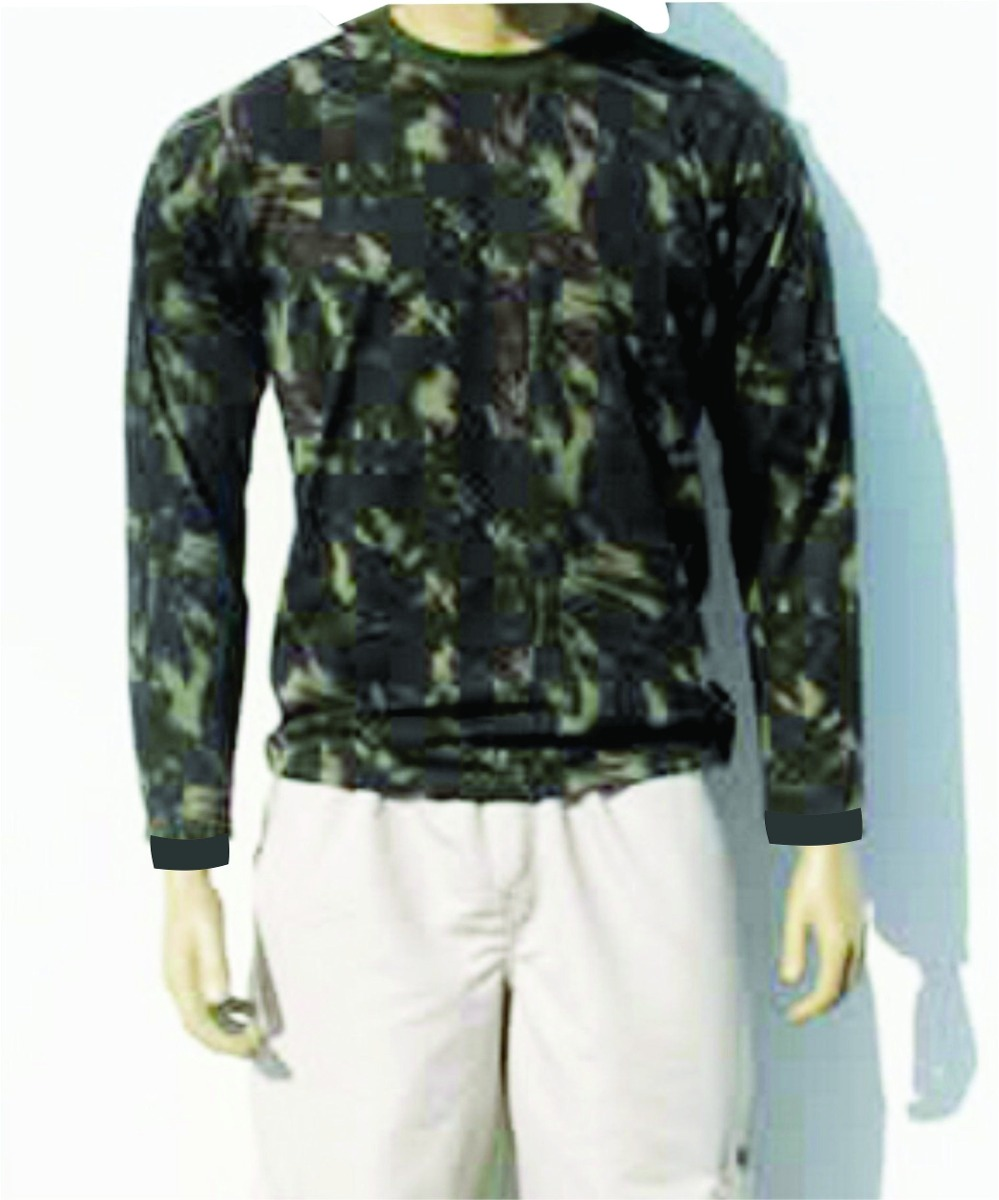Camisa Camuflada Masculina Manga Longa +1 Boné Por R  59 f2b7b939ed8