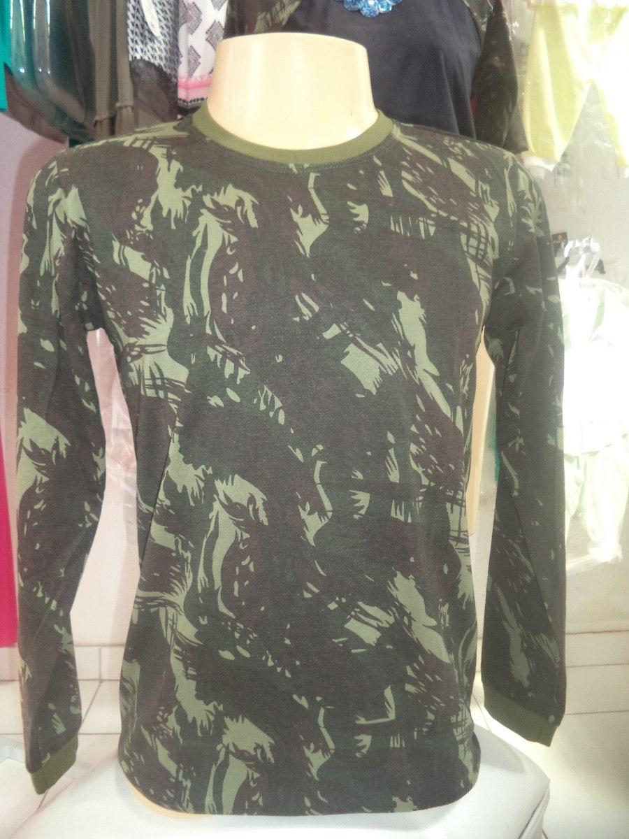 Camisa Camuflada Masculina Manga Longa Por R  34 7f2684c2adc