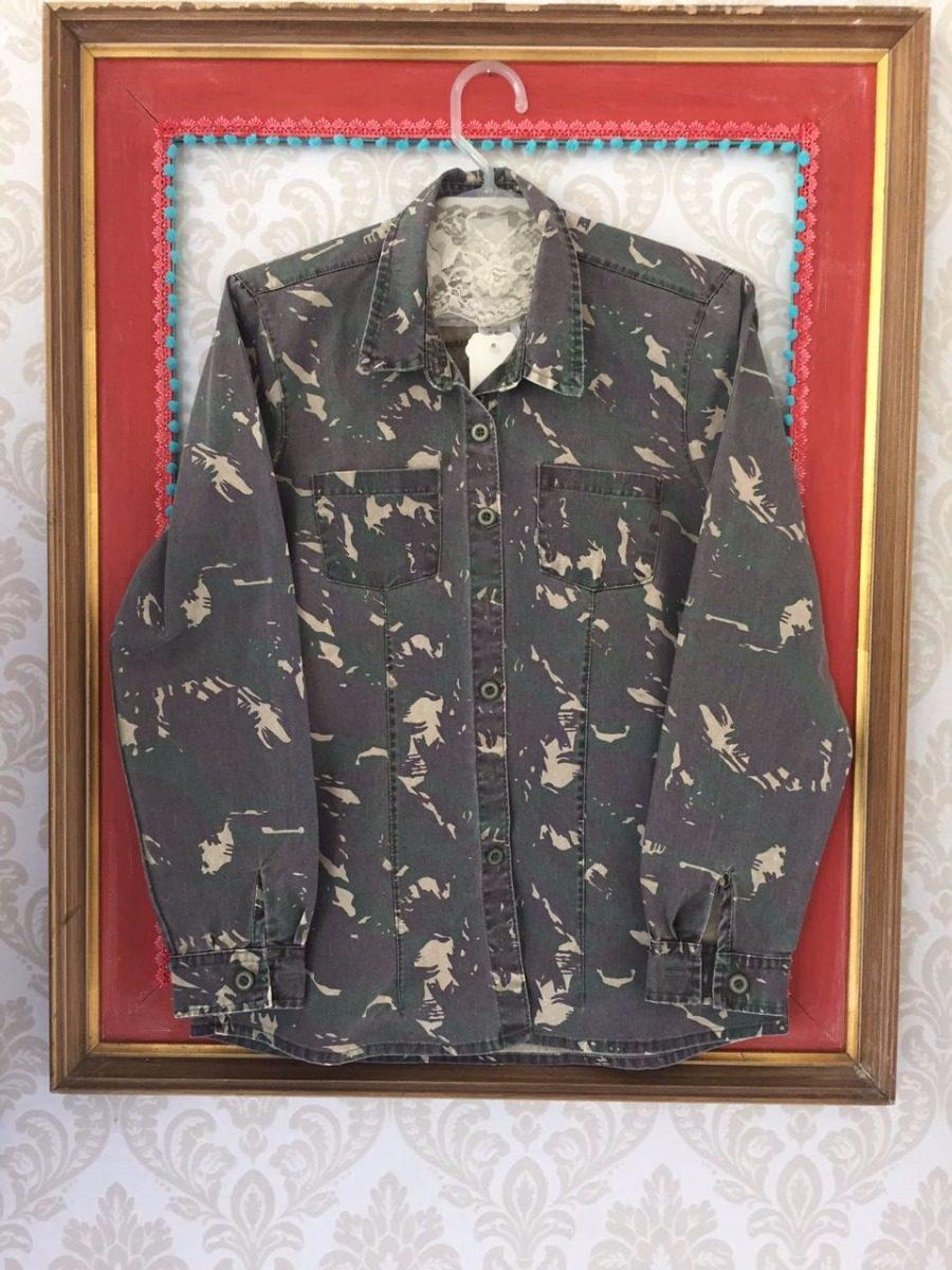 camisa camuflada militar. Carregando zoom. 4519ded73f6