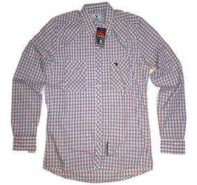 60cc63f3d Camisa A Cuadros Gris Y Negro - Ropa y Accesorios en Mercado Libre ...