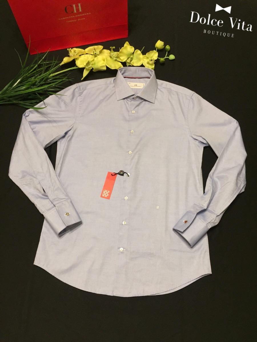 zoom manga original camisa larga para carolina Cargando herrera hombre  g8axqTvwRx 856a51e9a6d