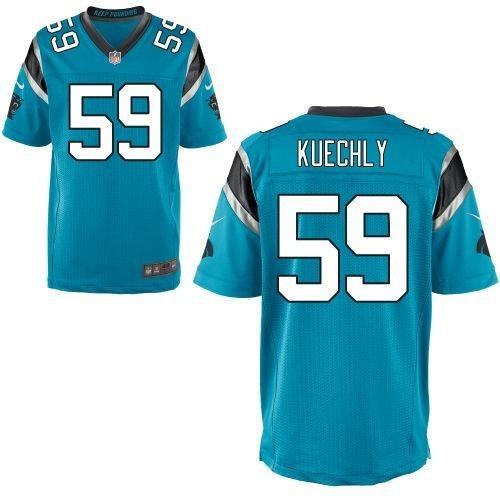 6d4fec6ee31b9 Camisa Carolina Panthers Luke Kuechly Nfl - Pronta Entrega - R  189 ...