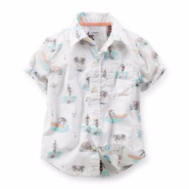 camisa carters branca com desenhos - a pronta entrega