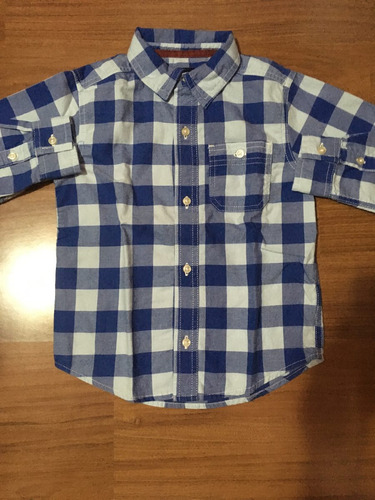 camisa carters niño
