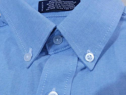 camisa casual arrow azul acero baratísima! jeans polo #69
