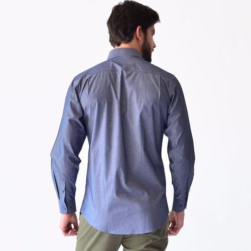 camisa casual formal algodón calidad precio rack & pack