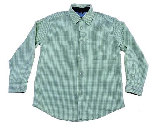 camisa casual gap kids niño seminueva en remate! náutica #68