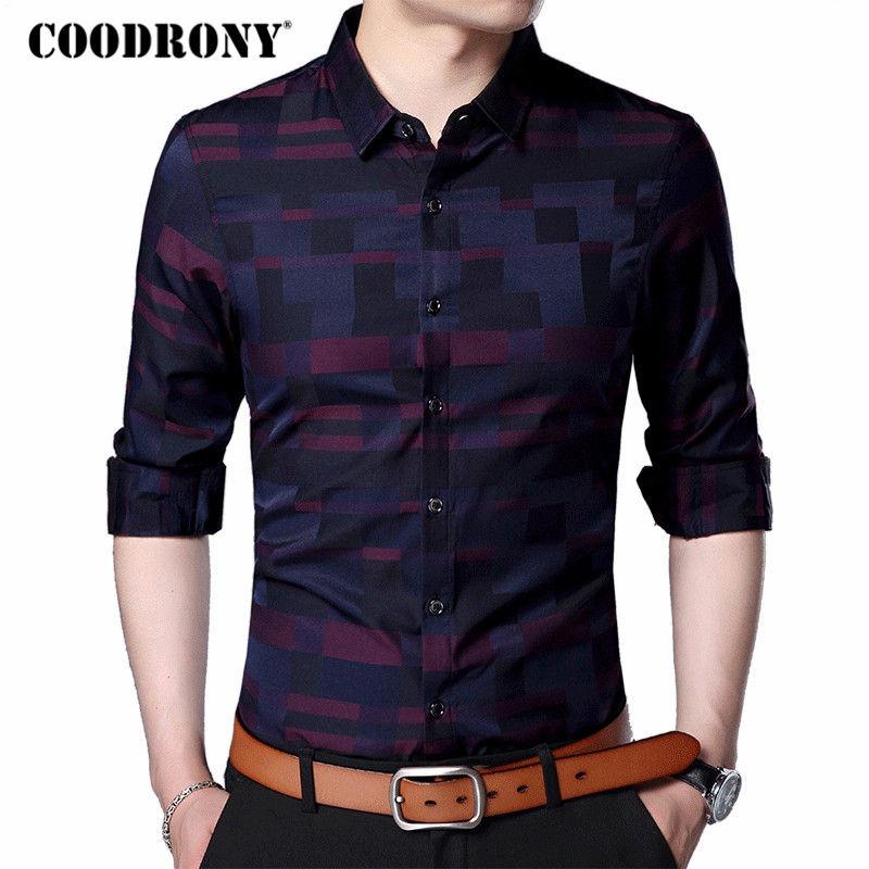 89261b0140 camisa casual masculina importada coodrony. Carregando zoom.