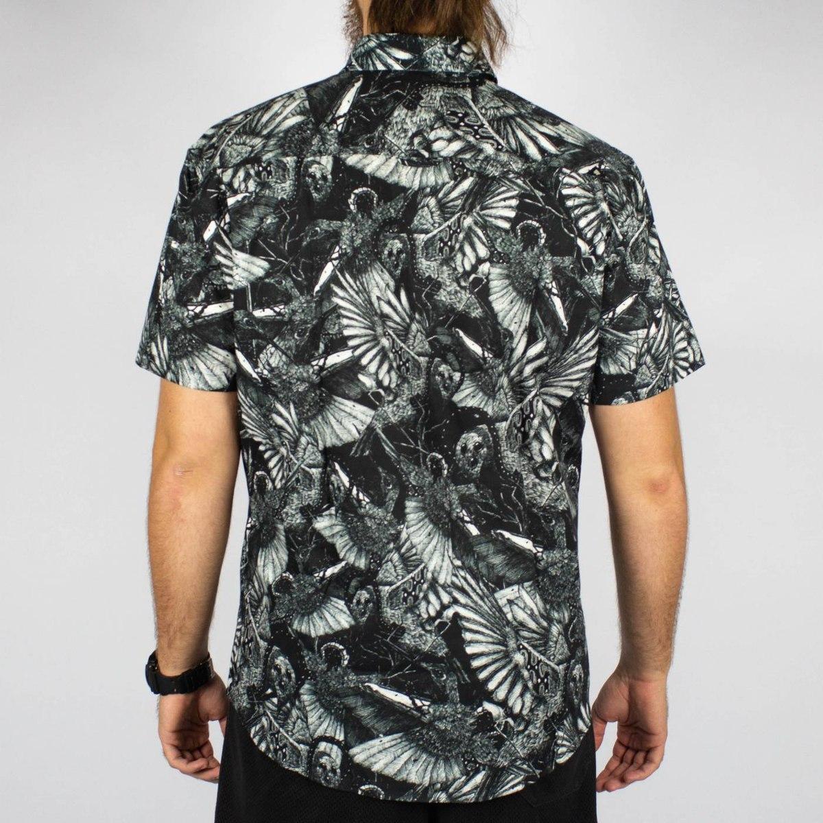 66c51c75ba camisa casual mcd birdboom full print original. Carregando zoom.