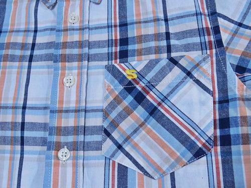 camisa casual skhuaban niño seminueva en oferta! náutica #67