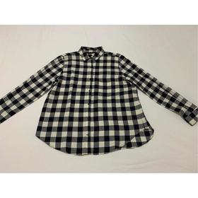 Camisa Casual Zara Basic Tamanho G Xadrez Novo Com Sacola