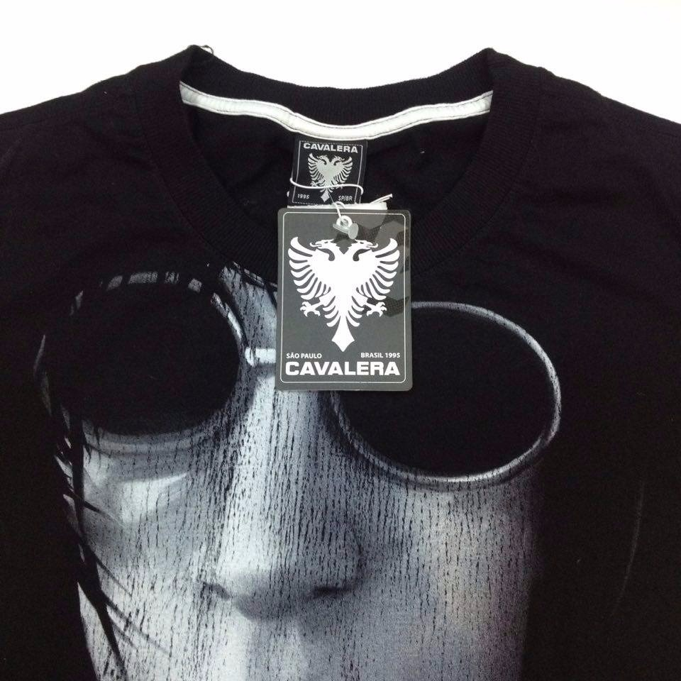 camisa cavalera joey ramone ref 75251. Carregando zoom. 71b44d91d9b