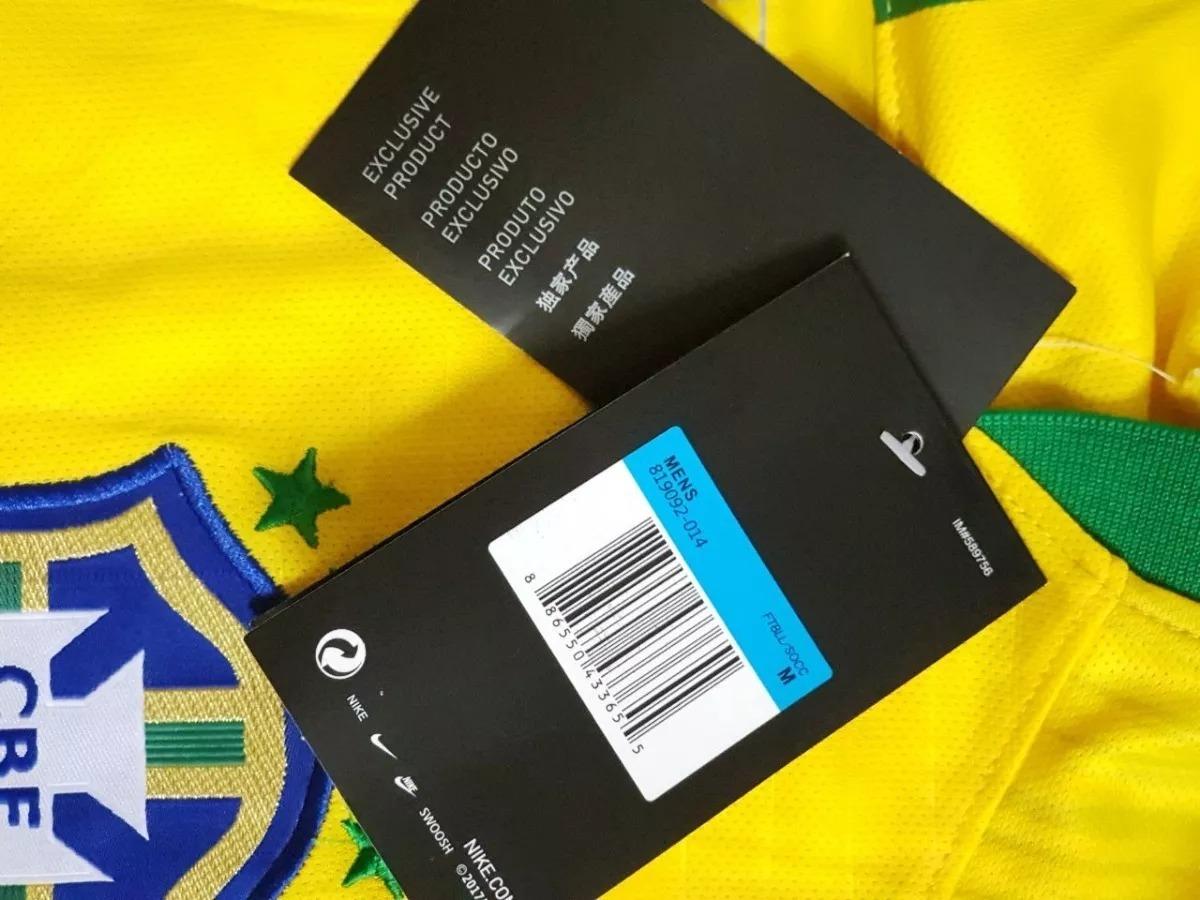 12dc694591 camisa cbf de futebol seleção brasileira original nike 2018. Carregando  zoom.