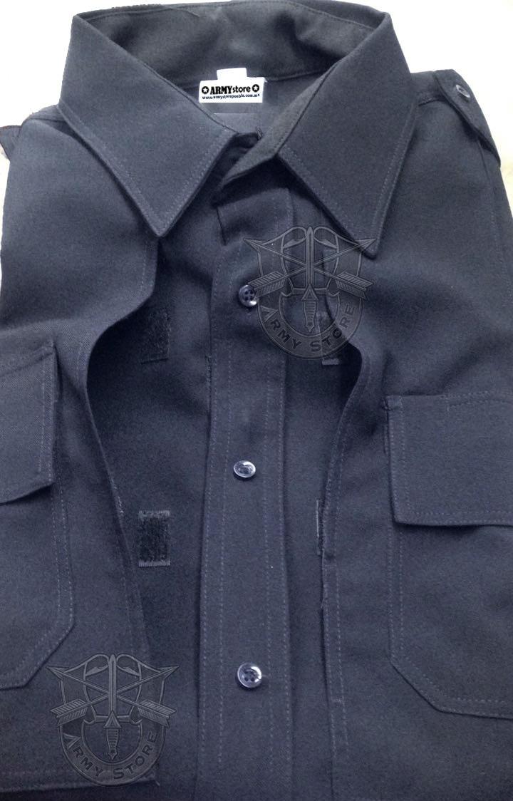 Camisa C bordado Tipo 5.11 Tactica Bolsa Oculta Para Policía ... 669033fcb8f06