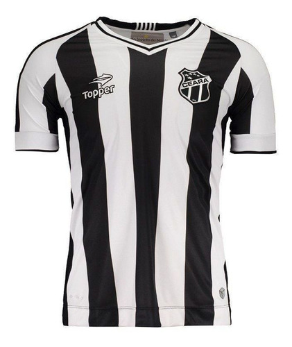 camisa ceará i topper 2016 s/p - 2ª qualidade