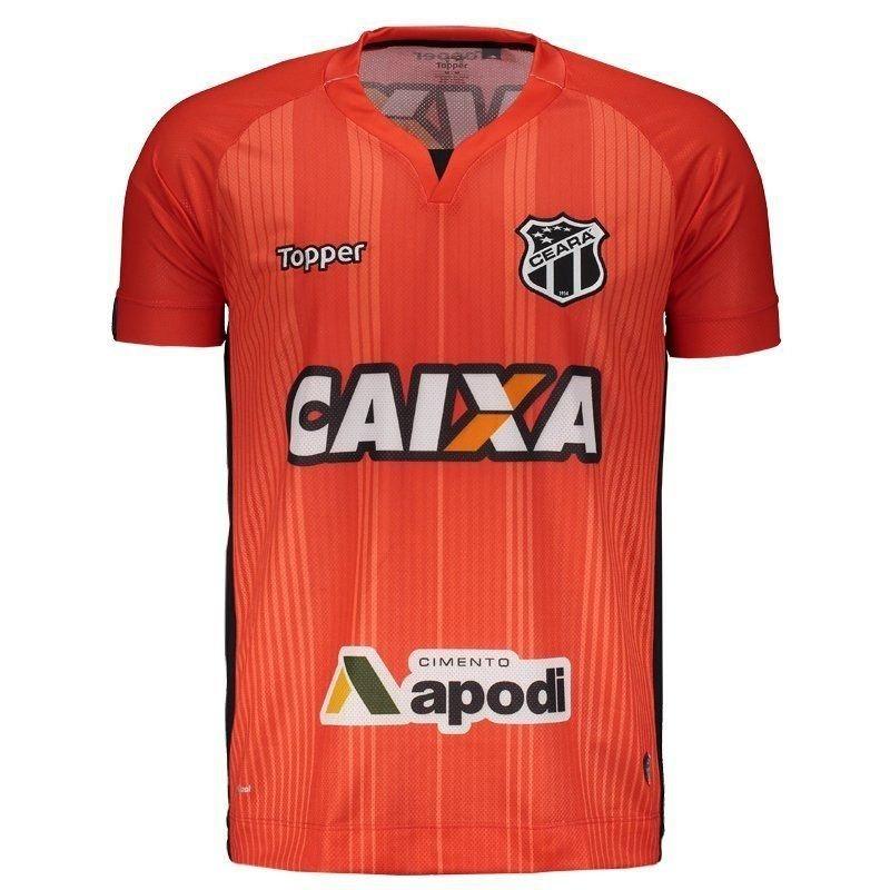 camisa ceará oficial topper goleiro 2018 - frete grátis. Carregando zoom. 3058b601e574b