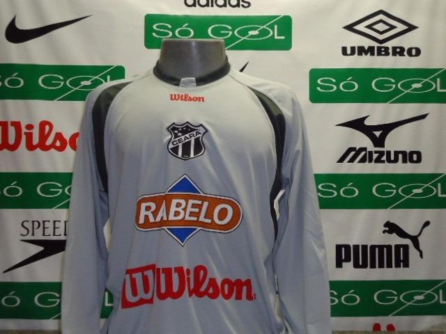 Camisa Ceara Wilson Goleiro Treino Manga Longa - R  59 a28113ca2f21d